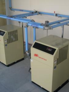 Air Compressor Vertical Configuration